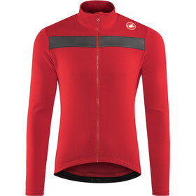 Castelli Puro 3 Full-Zip Jersey Herr red